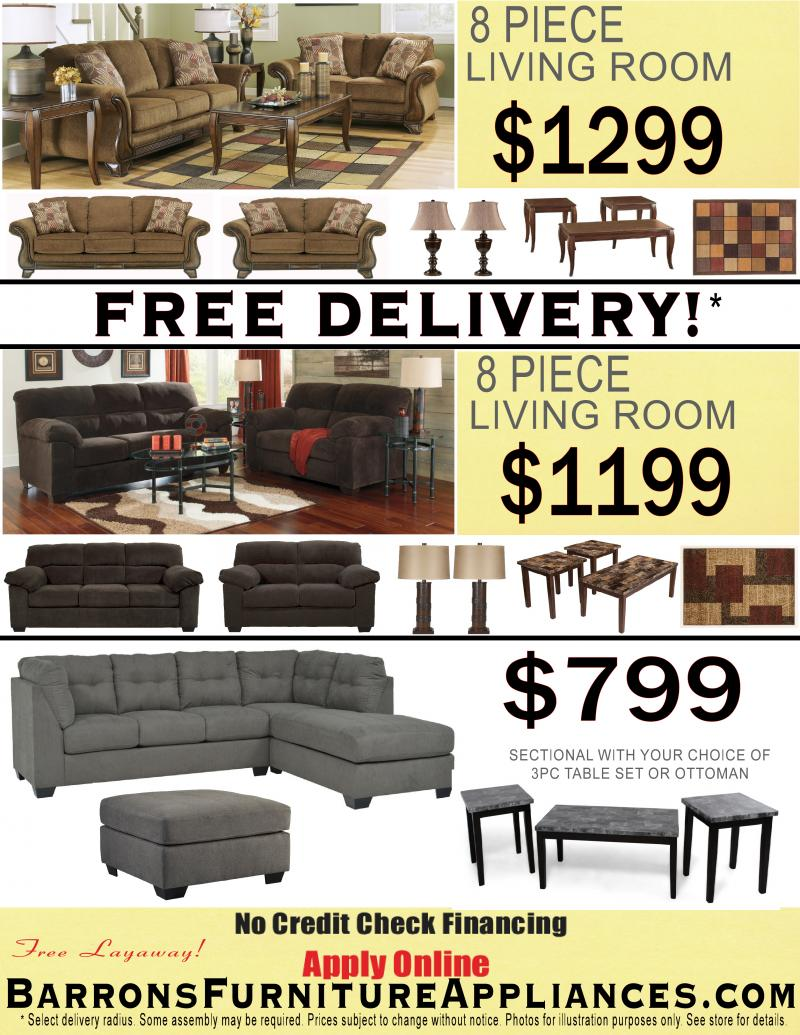 barron39s furniture and appliance no credit c
